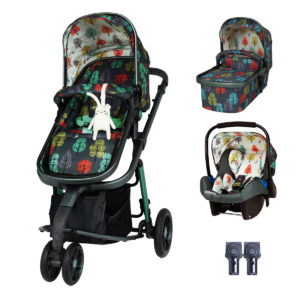 Cosatto Giggle 3 Travel System Bundle Hare Wood