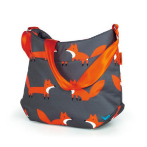 Cosatto Delux Changing Bag Charcoal Mister Fox