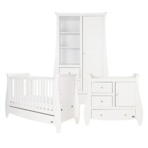 Tutti Bambini Katie 3 Piece Room Set - White