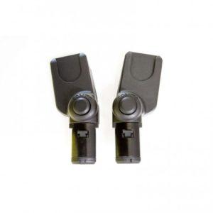Cosatto Dock / Multi Brand Adaptors (Giggle 2/Woop/Wow/Wow XL) Black