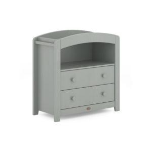 Boori Curved 2 Drawer Chest Changer - Pebble