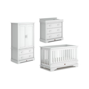 Boori Eton Convertible Plus™ 3 Piece Room Set - Barley White