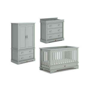 Boori Eton Convertible Plus™ 3 Piece Room Set - Pebble