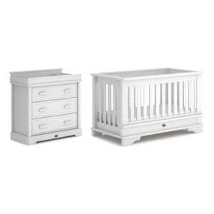 Boori Eton Convertible Plus™ 2 Piece Room Set - Barley White