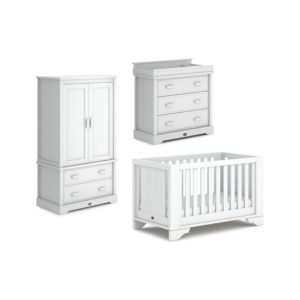 Boori Eton Expandable™ 3 Piece Room Set - Barley White