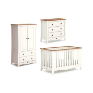 Boori Provence Expandable™ 3 Piece Room Set in Cream and Pecan