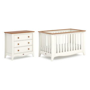 Boori Provence Expandable™ 2 Piece Room Set - Cream and Pecan