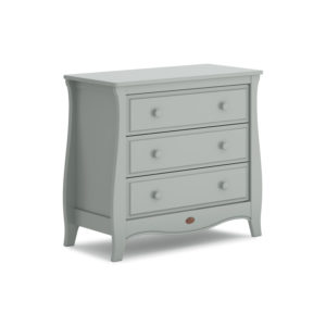 Boori Sleigh 3 Drawer Chest Smart Assembly - Pebble