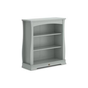 Boori Sleigh Bookcase Hutch - Pebble
