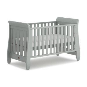 Boori Sleigh Urbane Cot Bed - Pebble
