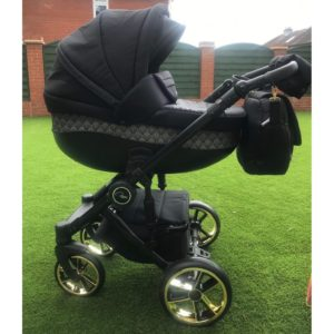 Roma Bambino SE Travel System Amy Childs Collection - Gold