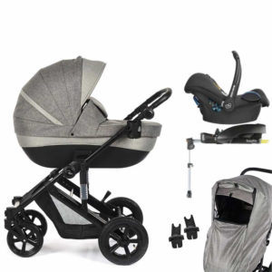 Roma Moda Travel System Bundle - Grey