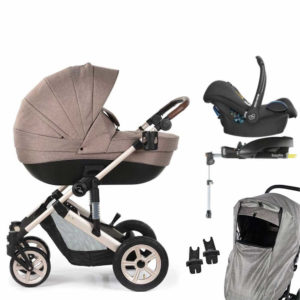 Roma Moda Travel System Bundle - Tweed