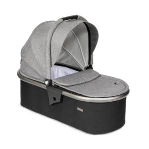 Tutti Bambini Arlo Carrycot - Charcoal/Charcoal