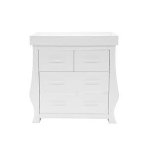 BabyStyle Hollie Dresser Fresh White