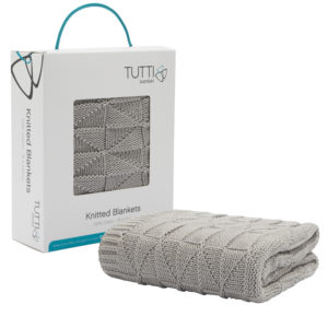 Tutti Bambini CoZee Cotton Woven Blanket - Putty