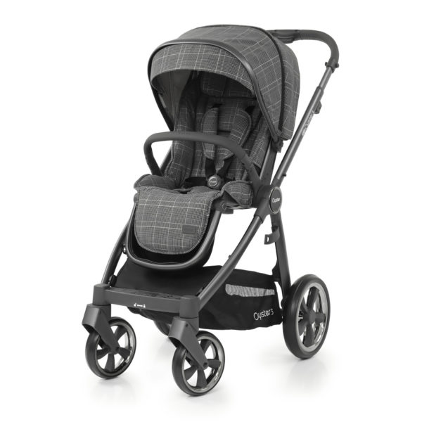 BabyStyle Oyster 3 Stroller Manhattan (City Grey)
