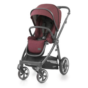 BabyStyle Oyster 3 Stroller Berry (City Grey)