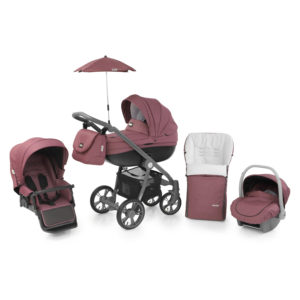 BabyStyle Prestige 2 Travel System Mulberry