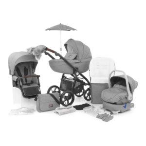BabyStyle Prestige 2 Travel System Nimbus Grey