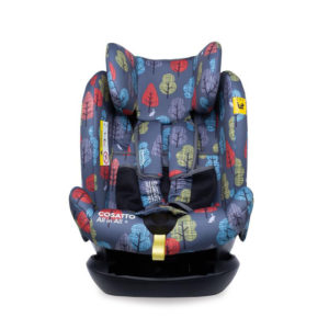Cosatto All in All + Group 0+123 Car Seat Charcoal Harewood