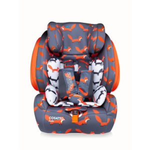 Cosatto Judo Group 123 Car Seat Mister Fox