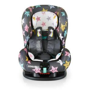 Cosatto Moova 2 Group 1 Anti-Escape Car Seat Happy Hush Stars