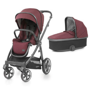 BabyStyle Oyster 3 Stroller And Carrycot Berry