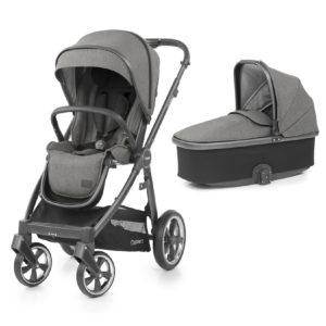 BabyStyle Oyster 3 Stroller And Carrycot Mercury (City Grey)