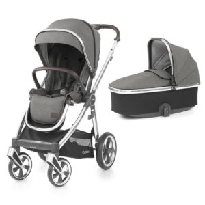 BabyStyle Oyster 3 Stroller And Carrycot Mercury (Mirror)