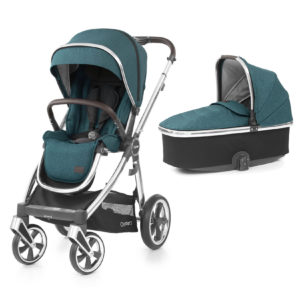 BabyStyle Oyster 3 Stroller And Carrycot Peacock