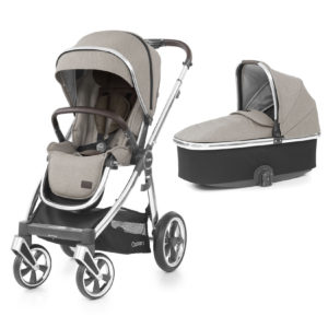 BabyStyle Oyster 3 Stroller And Carrycot Pebble