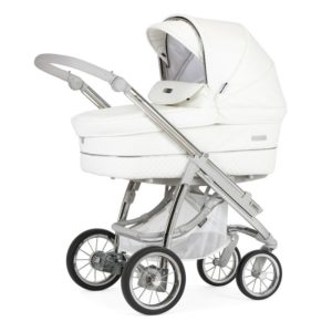 Bebecar Ip-op XL Classic Combination with Car Seat and KITLA3 - White Delight