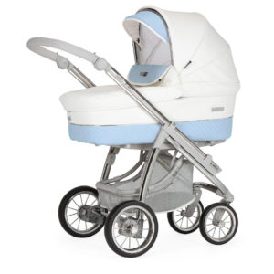 Bebecar Ip-op XL Classic Combination with Car Seat and KITLA3 - Iced Blue