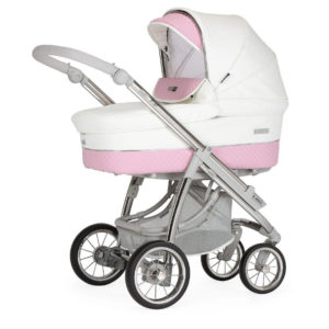 Bebecar Ip-op XL Classic Combination with Car Seat and KITLA3 - Iced Pink