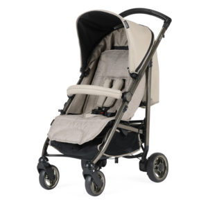 Bebecar Spot+ Pushchair with Raincover Biscotti