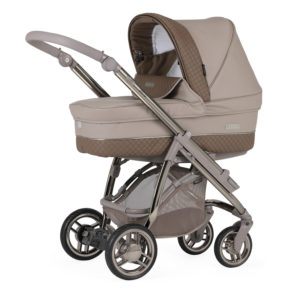 Bebecar M-City Combination with Car Seat - Truffle