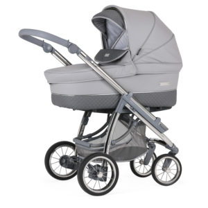 Bebecar Ip-op XL Classic Combination with Car Seat and KITLA3 - Pewter