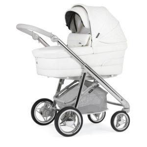 Bebecar V-Pack Combination with Car Seat and KITLA3 - Porcelain