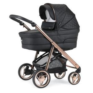 Bebecar V-Pack Combination with Car Seat and KITLA3 - Rose Black
