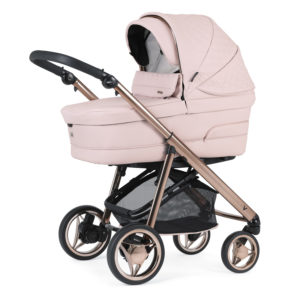 Bebecar V-Pack Combination with Car Seat and KITLA3 - Pink Opal