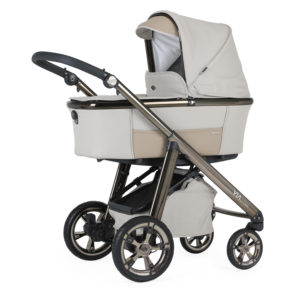Bebecar Via Cross Combination with Car Seat and KITLA3 - French Beige