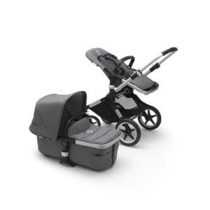 Bugaboo Fox 2 Stroller ALU/Grey Melange/Grey Melange