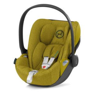 Cybex Cloud Z i-Size Plus Car Seat Mustard Yellow