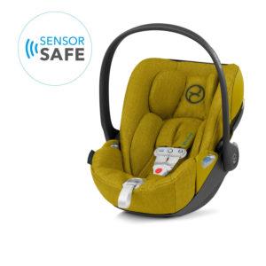 Cybex Cloud Z i-Size Plus Car Seat incl Sensorsafe Mustard Yellow