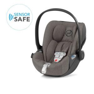 Cybex Cloud Z i-Size Plus Car Seat incl Sensorsafe Soho Grey