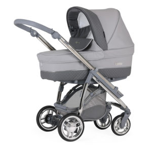 Bebecar M-City Combination with Car Seat - Pewter
