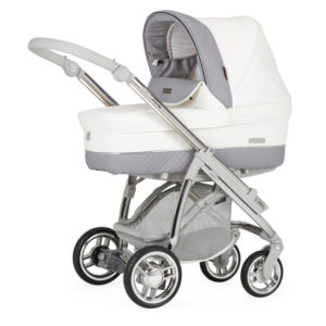 Bebecar M-City Combination with Car Seat - Dove Grey