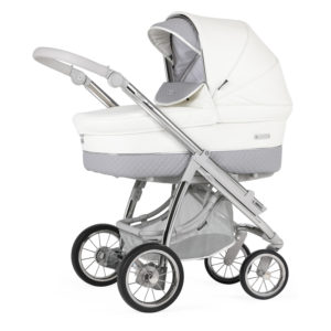 Bebecar Ip-op XL Classic Combination with Car Seat and KITLA3 - Dove Grey