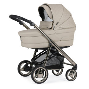 Bebecar V-Pack Combination with Car Seat and KITLA3 - Latte